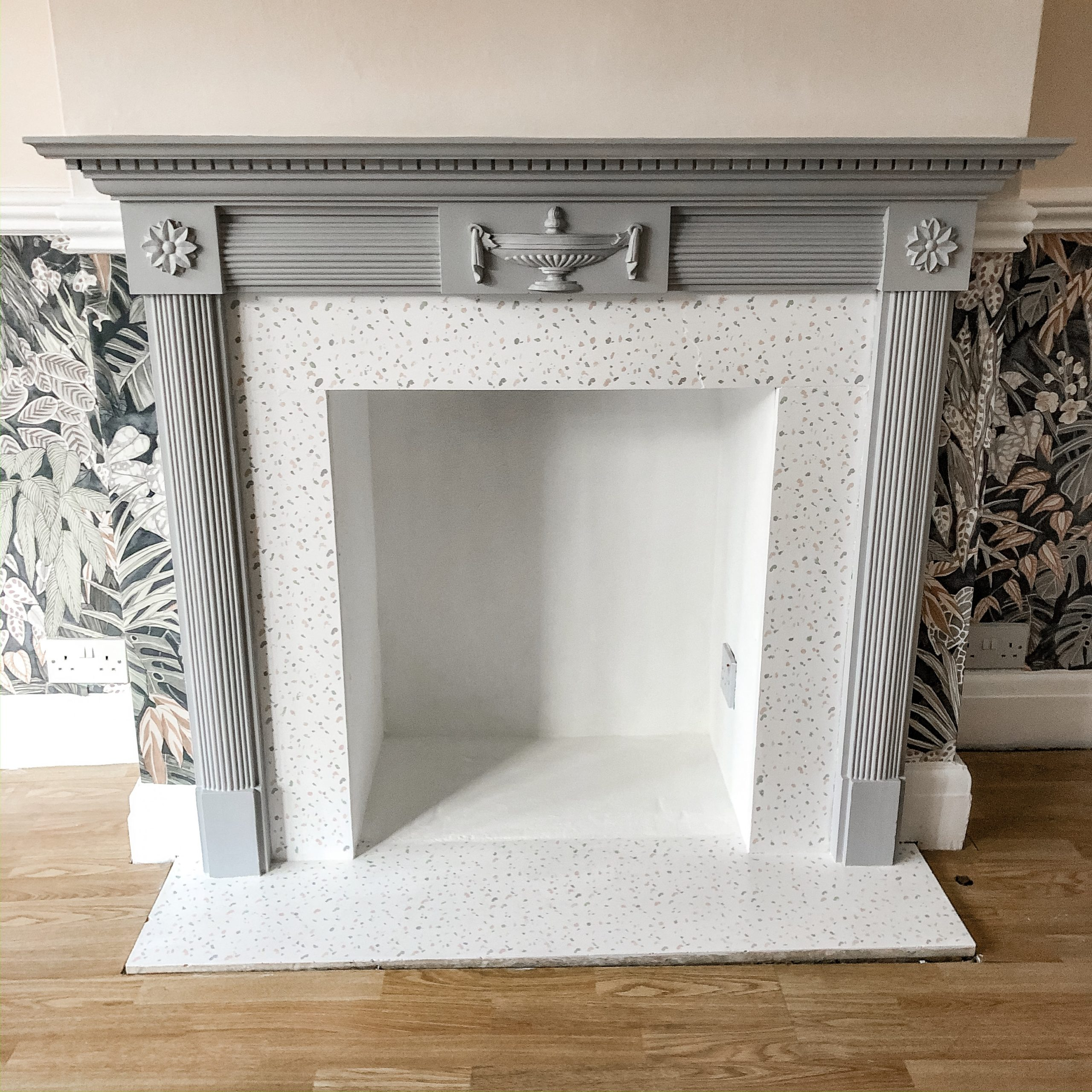 How I Transformed Our 1930 S Fireplace Boo Maddie