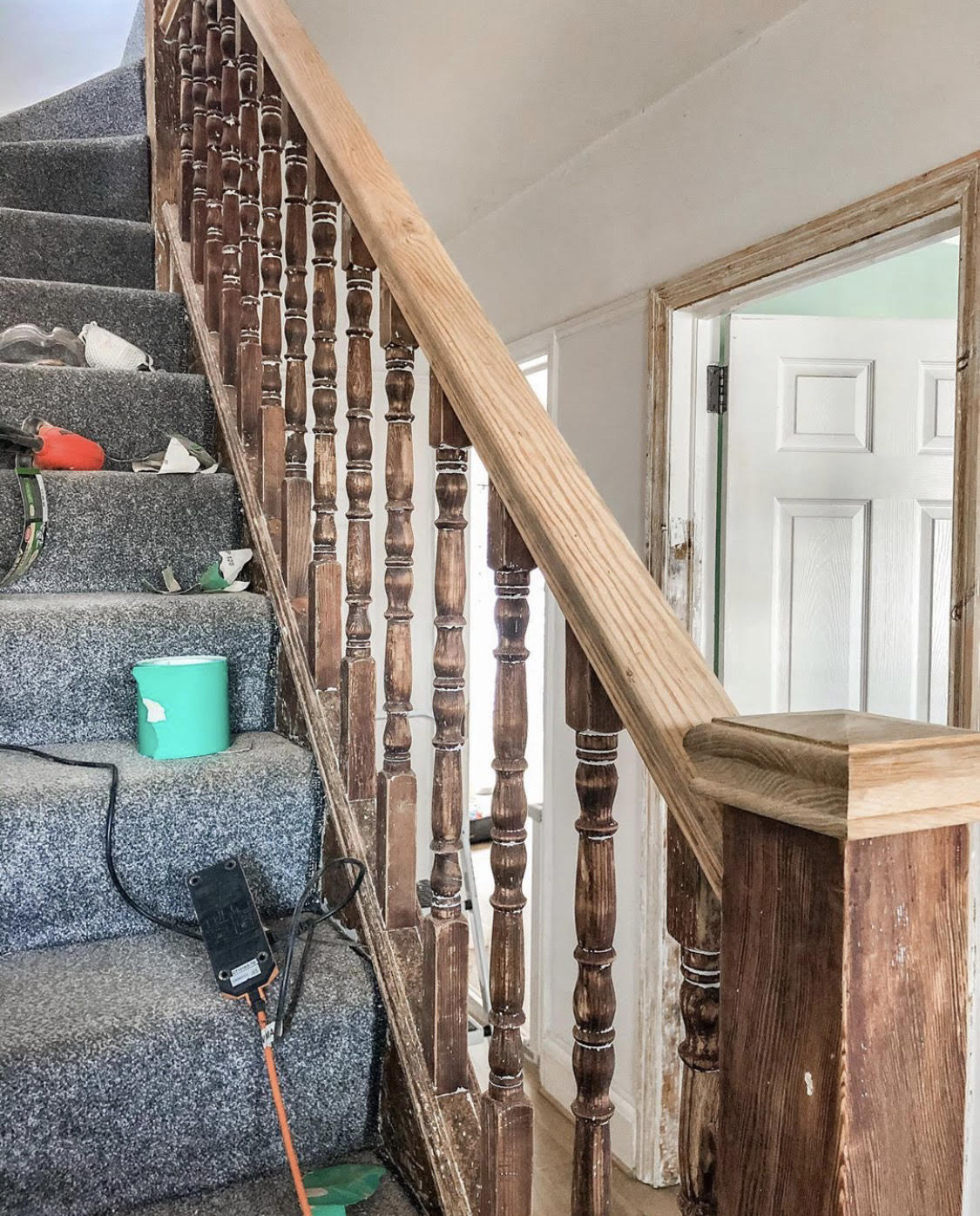 Our 1930s Staircase Renovation Part Two Boo Maddie